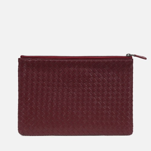 Net Clutch Bag (M) - WINE