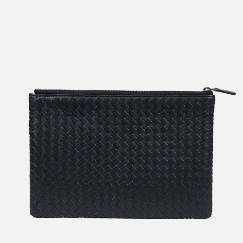 Net Clutch Bag (M) - DARK GRAY