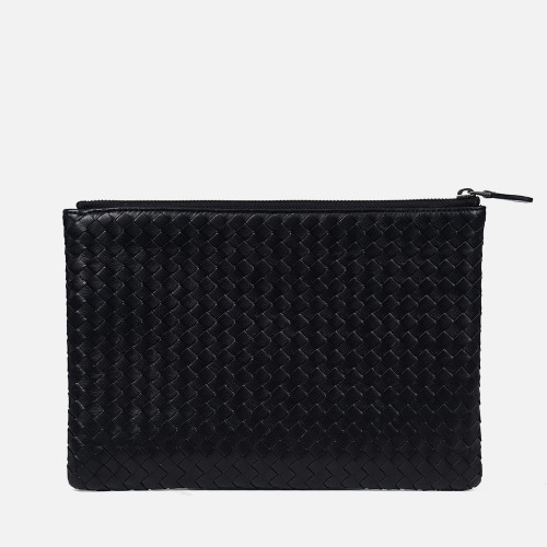 Net Clutch Bag (M) - BLACK