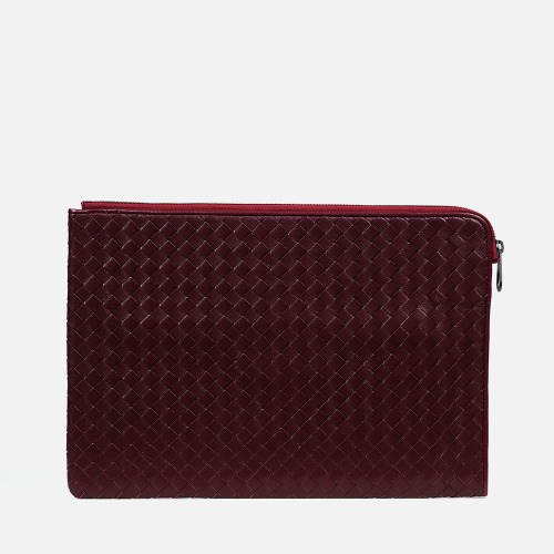 Net Clutch Bag (L) - WINE