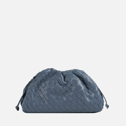 Wrinkle Cross Bag - STEEL BLUE