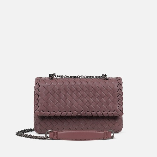 2 Chain Shoulder Bag (S) - INDI PINK