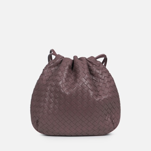 Net Bucket Bag - INDI PINK