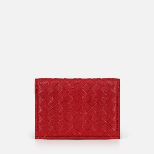 Net Business Card Wallet - RED